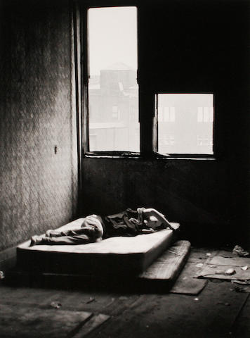 David Wojnarowicz (American, 1954-1992) 'On Mattress'