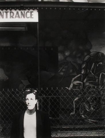 David Wojnarowicz (American, 1954-1992) 'Subway Station'