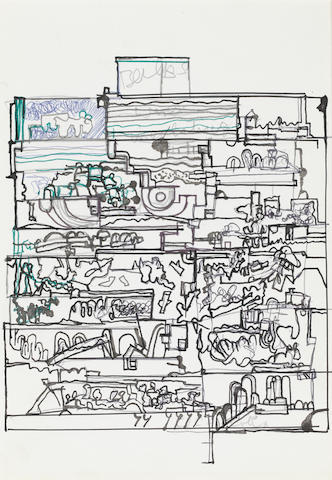 Sir Eduardo Paolozzi (British, 1924-2005) Untitled,