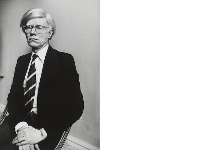 John Minihan (Irish, 1946) Andy Warhol, 7th Feb 1980