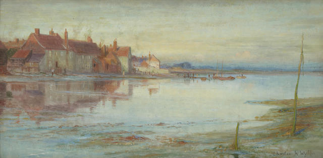 Charles William Wyllie, R.B.A. (British, 1859-1923) Bosham