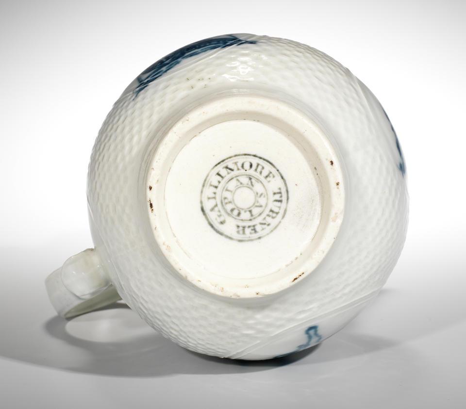 An important Caughley jug, circa 1775