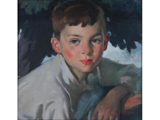 Bernard Fleetwood-Walker (British, 1893-1965) 'Colin' 36 x 35cm.