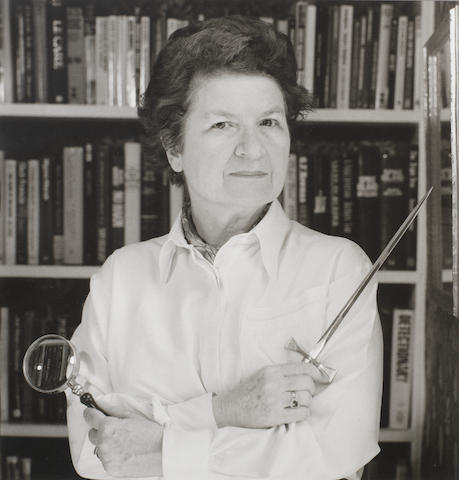JAMES, PHYLLIS DOROTHY, Baroness, 'P.D. James' (b. 1920, novelist and public servant)