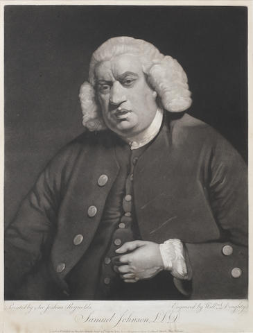 JOHNSON, Dr SAMUEL (1709-1784, critic, poet and lexicographer)