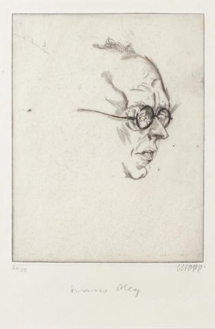 [KAFKA, FRANZ] - BLEI, FRANZ (1871-1942, writer, translator and editor of Hyperion)