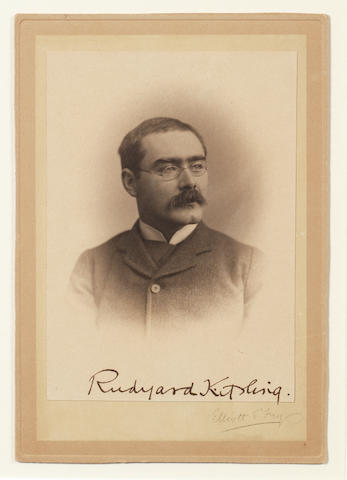KIPLING, RUDYARD (1865-1936, novelist and poet)