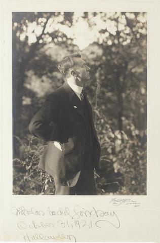 LINDSAY, NICHOLAS VACHEL (1879-1931, American poet)