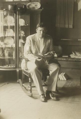LONDON, JACK (1876-1916, American writer)
