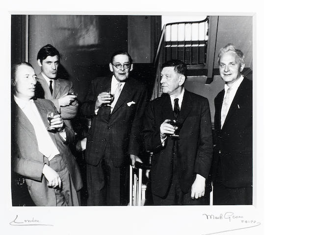 MODERN POETS: ELIOT, AUDEN, HUGHES, SPENDER AND MACNEICE.