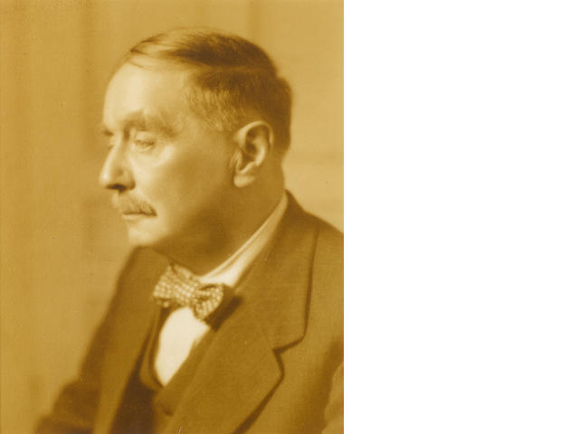 WELLS, HERBERT GEORGE (1866-1946, novelist, science fiction writer and social commentator)