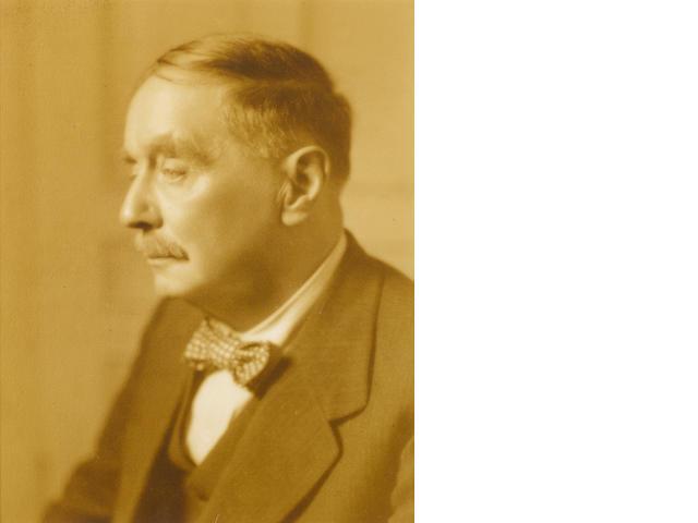 WELLS, HERBERT GEORGE (1866-1946, novelist, science fiction writer and social commentator)