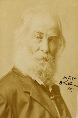 WHITMAN, WALT (1819-1892, American poet)