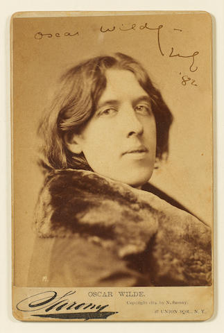 WILDE, OSCAR (1854-1900, poet and playwright)