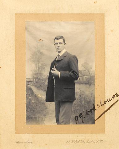 WODEHOUSE, Sir PELHAM GRENVILLE (1881-1975, novelist)