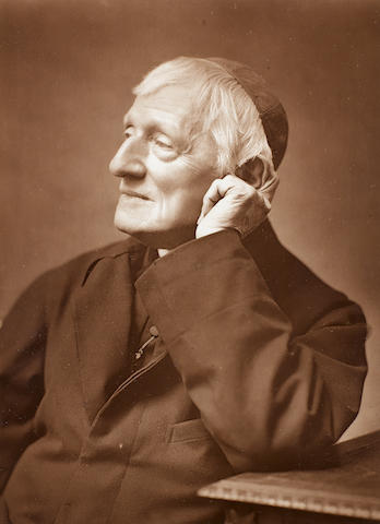 NEWMAN, JOHN HENRY (1801-1890, Cardinal, leader of the Oxford Movement, Saint)