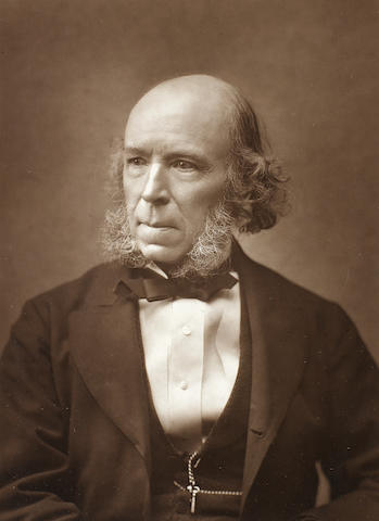 SPENCER, HERBERT (1820-1903, philosopher, sociologist and political theorist)