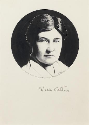 CATHER, WILLA (1873-1947, American novelist)