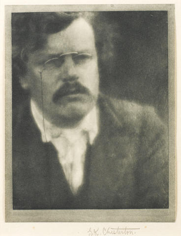 CHESTERTON, GILBERT KEITH (1874-1936, novelist and journalist)