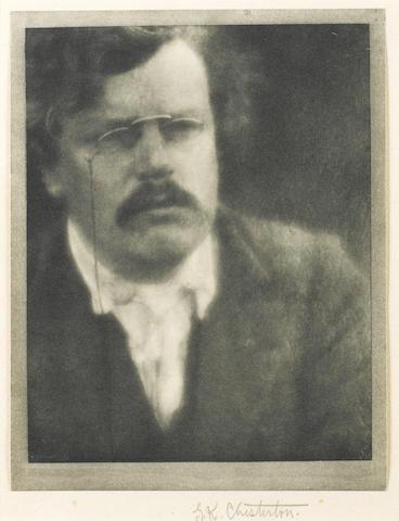 CHESTERTON, GILBERT KEITH (1874-1936, novelist and journalist)