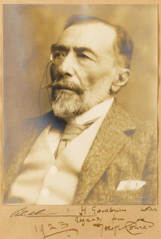 CONRAD, JOSEPH (1857-1924, novelist)