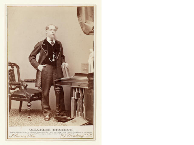 DICKENS, CHARLES (1812-1870, novelist and actor