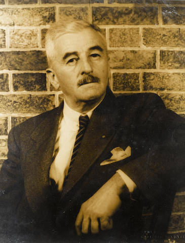 FAULKNER, WILLIAM (1897-1962, American novelist)