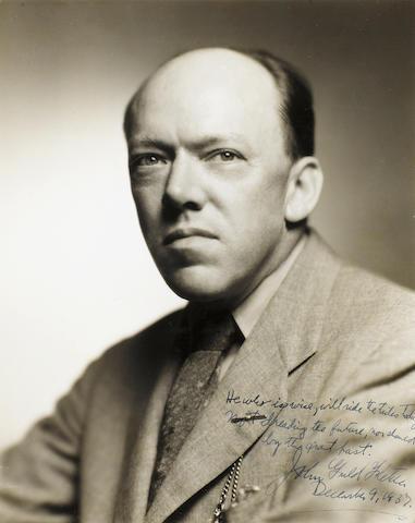 FLETCHER, JOHN GOULD (1886-1950, Imagist poet and essayist)
