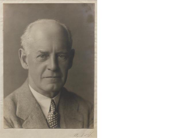 GALSWORTHY, JOHN (1867-1933, novelist and playwright, O.M.)