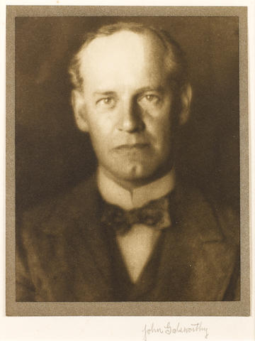 GALSWORTHY, JOHN (1867-1933, novelist and playwright, O.M.)
