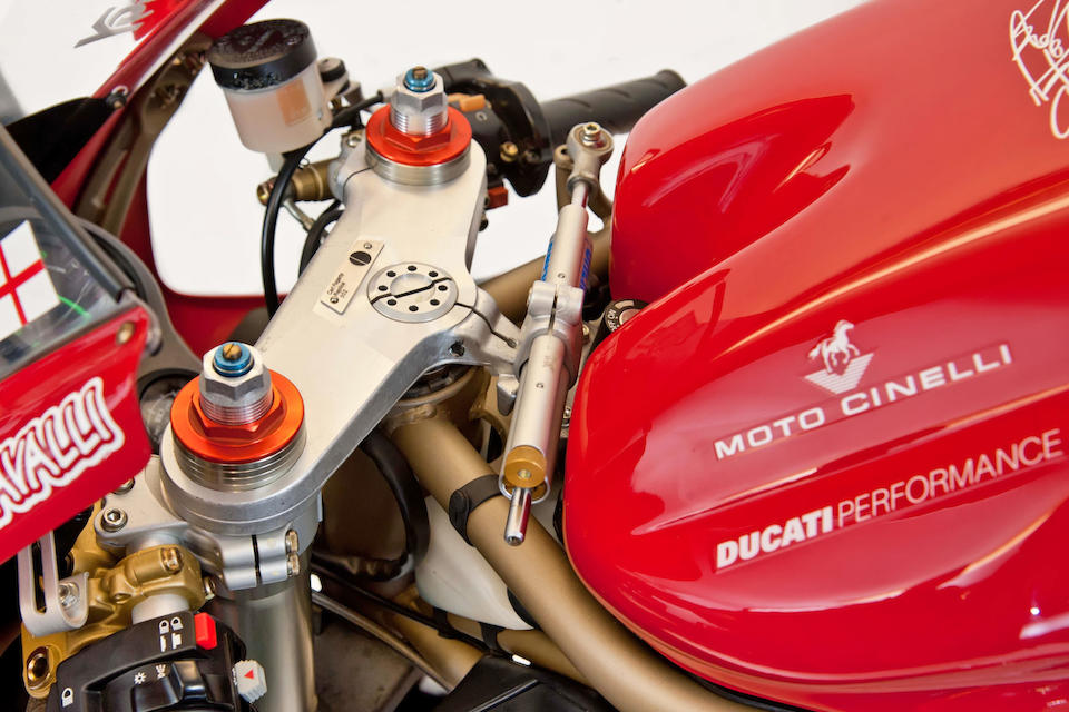 The ex-Carl Fogarty, number '002',1998 Ducati 916SPS 'Fogarty Replica' Frame no. ZDMH100AAWB001529