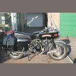 Vinnylonglegs – one owner and just 721,703 miles!,1955 Vincent 998cc Black Prince Frame no. RC/1/11492/B       Engine no. F10AB/2B/10913