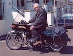 Vinnylonglegs – one owner and just 721,703 miles!,1955 Vincent 998cc Black Prince Frame no. RC/1/11492/B Engine no. F10AB/2B/10913