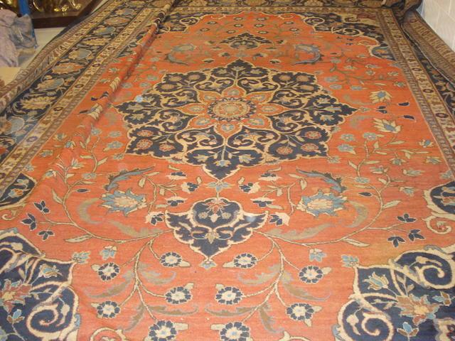 A Tabriz carpet North West Persia, 509cm x 361cm