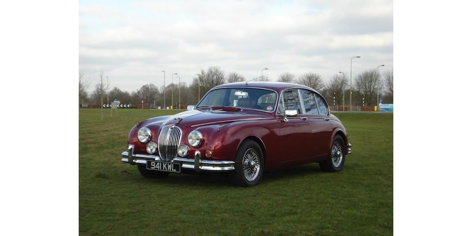 1961 Jaguar Mk2 3.4-Litre Saloon  Chassis no. 153241/DN Engine no. KG5823-8