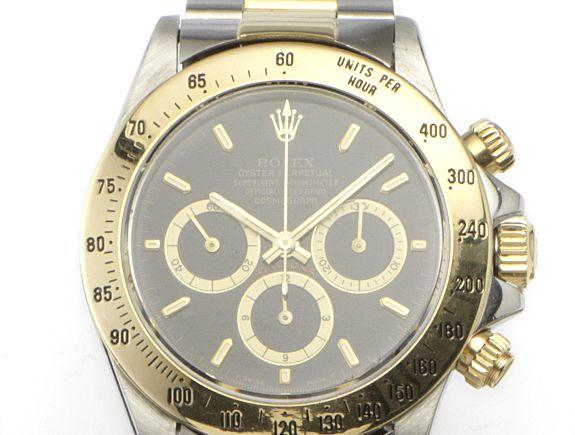 Rolex. A steel and gold automatic chronograph bracelet watch Daytona, Ref.16523, Serial number L546298, circa 1998