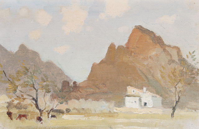Adolphe Valette (French, 1876-1942) Pollensa
