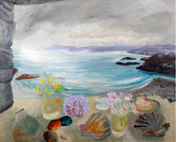 Winifred Nicholson 'Sea Treasures', oils  -  Goods in transit insurance £75,000