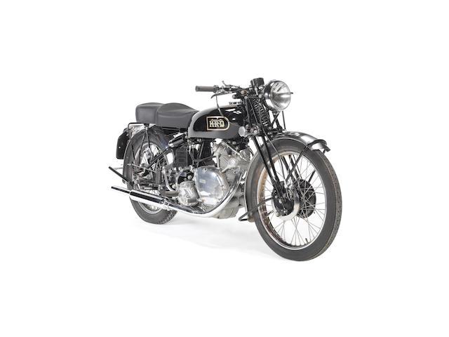 1949 Vincent-HRD 500cc Meteor Frame no. R/1/4591 Engine no. F5AB/2/2691