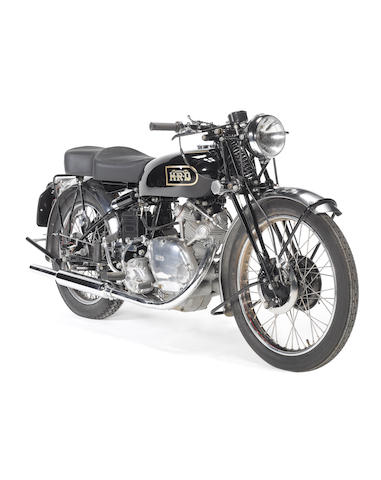 1949 Vincent 499cc Meteor Series B Frame no. R/1/4591 Engine no. F5AB/2/2691