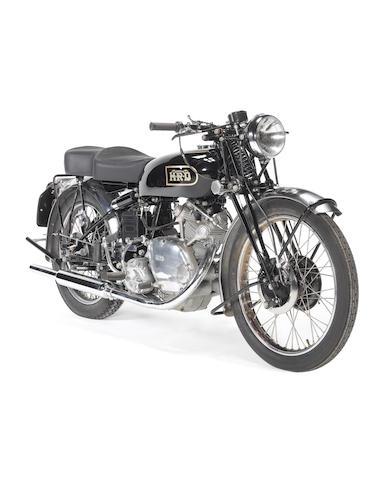 1949 Vincent 499cc Meteor Series B Frame no. R/1/4591 Engine no. F5AB/2/2691