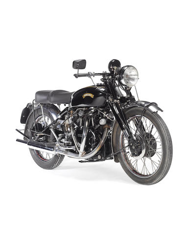 c.1950 Vincent 998cc Black Shadow Frame no. RC5746B Engine no. 10AB/1/1