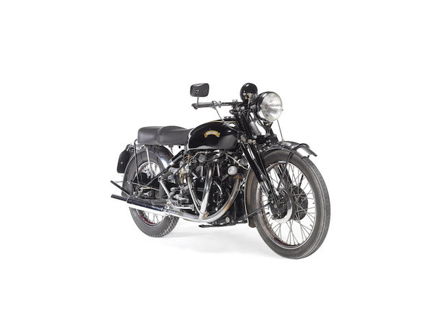c.1950 Vincent 998cc Black Shadow/Rapide Frame no. RC5746B Engine no. F10AB/1/1637