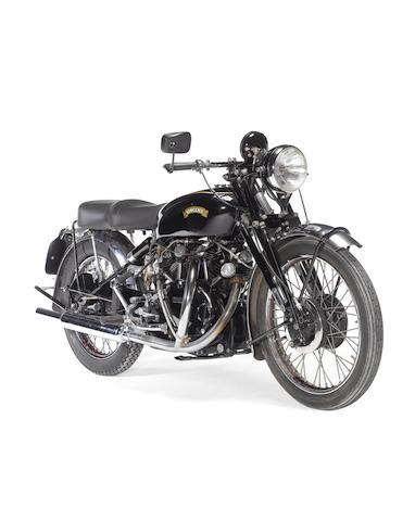 c.1950 Vincent 998cc Black Shadow/Rapide Frame no. RC5746B Engine no. F10AB/1/1637