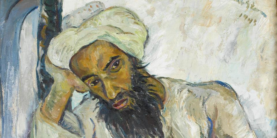 Irma Stern (South African, 1894-1966) 'Arab Priest'