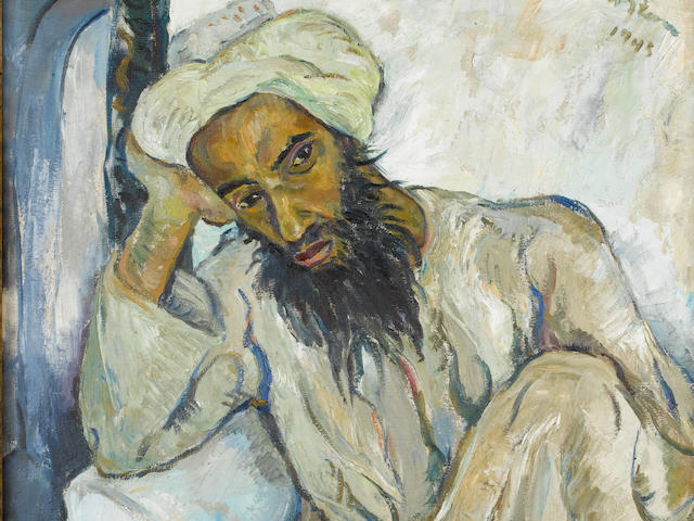 Irma Stern (South African, 1894-1966) 'Arab Priest'