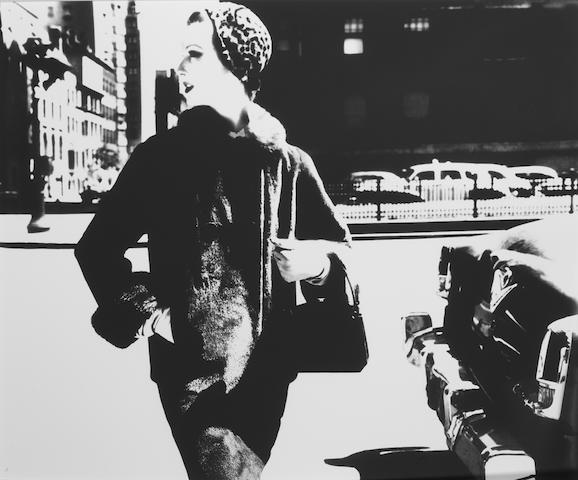 Lillian Bassman (American, born 1917) Park Avenue Woman, Mary Jane Russell, 1954