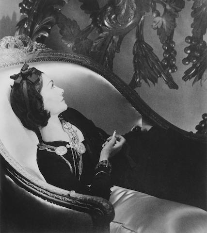 Horst P. Horst (German/American, 1906-1999) Coco Chanel, Paris, 1937