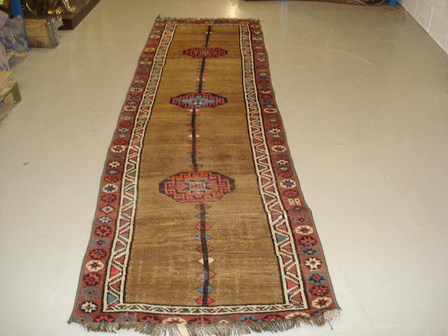 A Kurdish runner West Persia, 353cm x 107cm