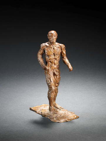 Dame Elisabeth Frink R.A. (British, 1930-1993) Small Male Figure 29.5 cm. (11 1/2 in.) high